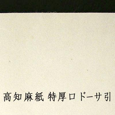 高知麻紙 特厚口 2m×3m(ドーサ引)
