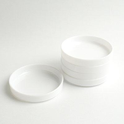 プラスチック重皿 5枚組