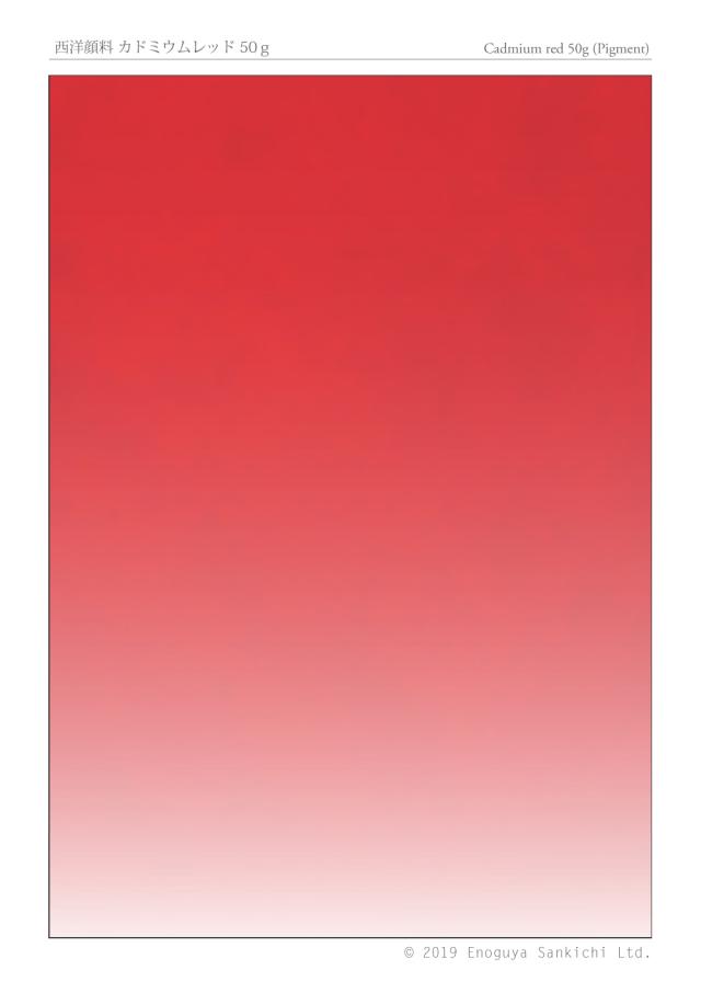 西洋顔料 カドミウムレッド 50g