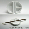 筆置き絵皿(わがみ小路)