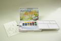ターレンス プチカラー水筆入り 固形透明水彩18色セット
