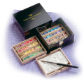 ホルベイン アーチスト パンカラー48色セット(越前黒漆塗り製 漆CUBE) *取寄せ品