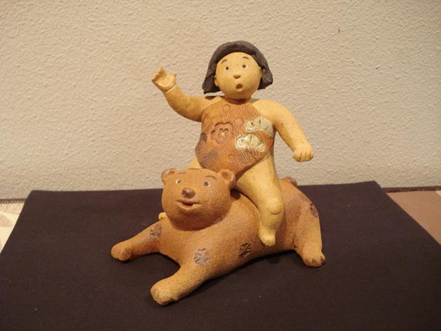 陶人形 滝上真由美 五月人形 節句 常滑