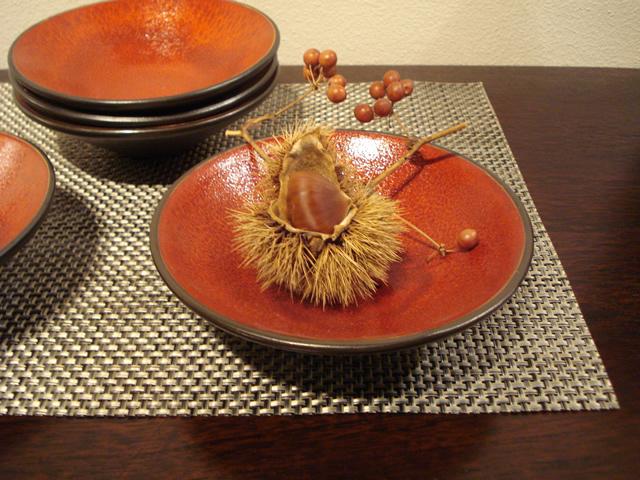 食器 陶器 小鉢 赤