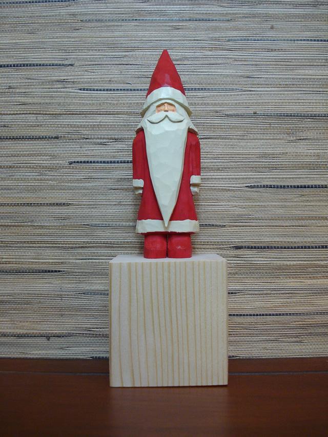 サンタクロース クリスマス 磯部雅也 木工