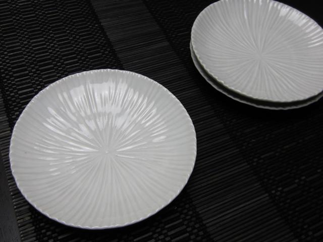 九谷青窯 細見 白い小皿