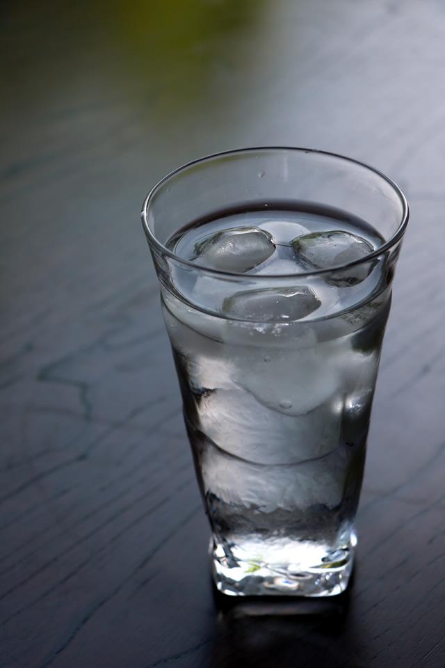 グラス タンブラー 吹きガラス 沖口こずえ 角グラス大