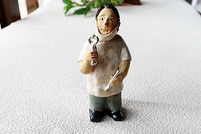 ささきようこ ドクタードール 歯医者 陶人形