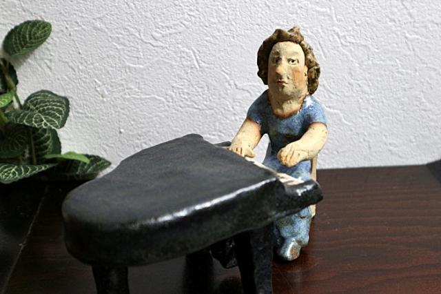 ささきようこ オーケストラ人形 ピアノ