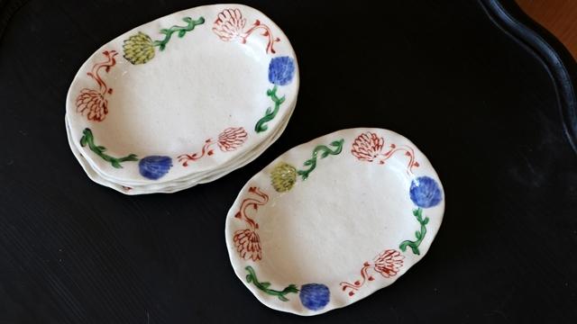 榛澤宏 中皿 陶器
