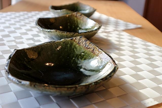 棚橋淳 中鉢 織部 陶器