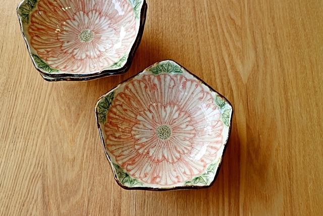 5寸鉢 牡丹 加藤芳平