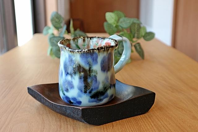 斉山窯 マグカップ