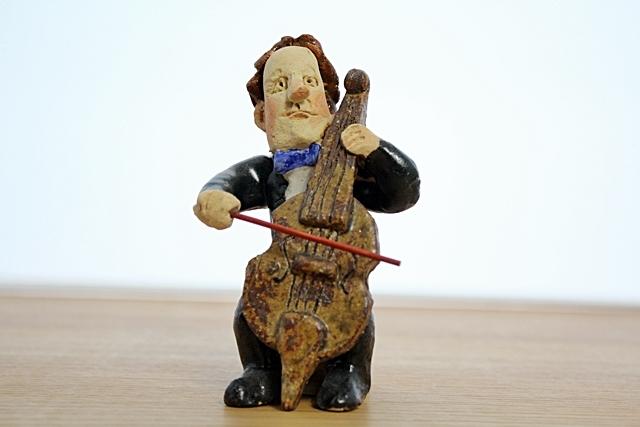 ささきようこ  チェロ オーケストラ人形