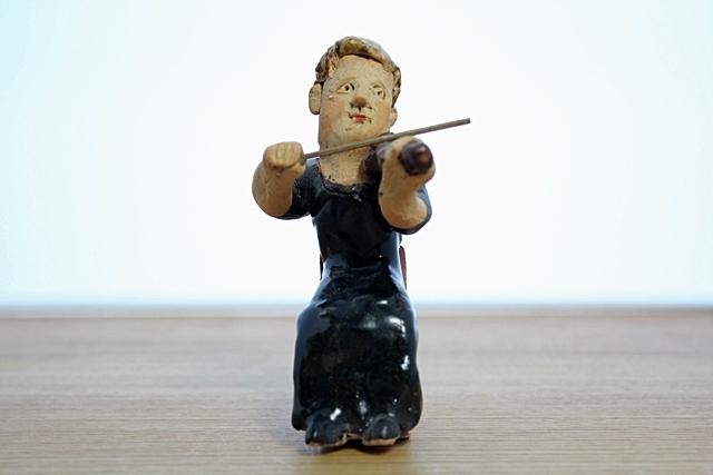ささきようこ  バイオリン  女性 オーケストラ人形