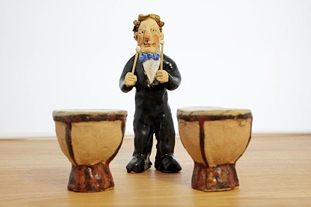 ささきようこ  ティンバリ  オーケストラ人形