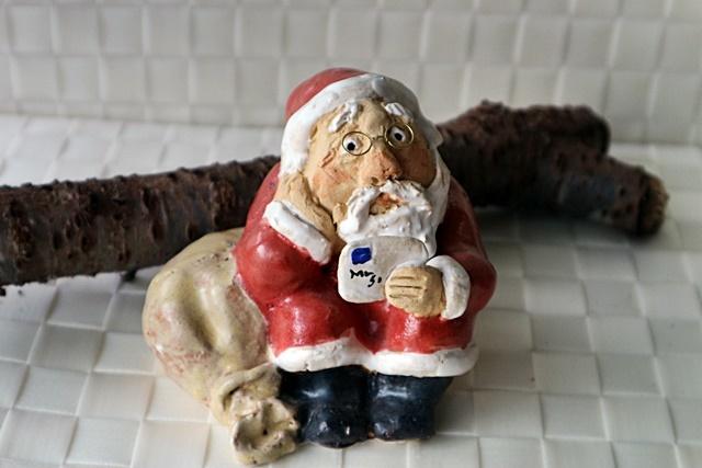 ささきようこ クリスマス サンタクロース ・座りサンタ