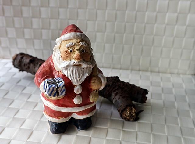 ささきようこ クリスマス サンタクロース ・立ちサンタ
