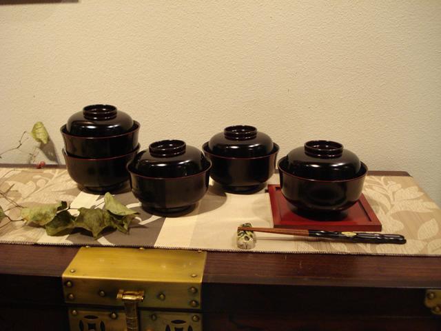 漆器 雑煮椀 煮物椀