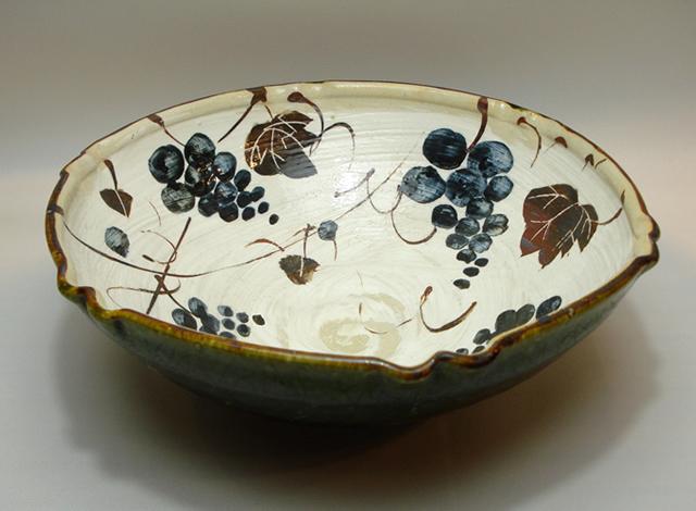 織部 陶器 達武衛 美濃 鉢