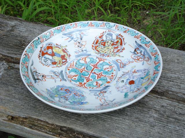 大皿 陶器 和田一人 美濃
