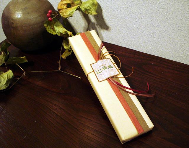 江戸木箸 贈答用ラッピング(木箱付)