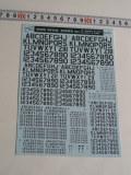 ナンバーデカールシリーズ MO2:45°ダークゴーストグレー Numbers&Letters
