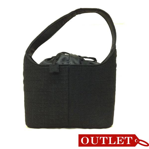 【特価】【アウトレットセール】(b266-01)_バッグ_リングドットバッグ(黒)
