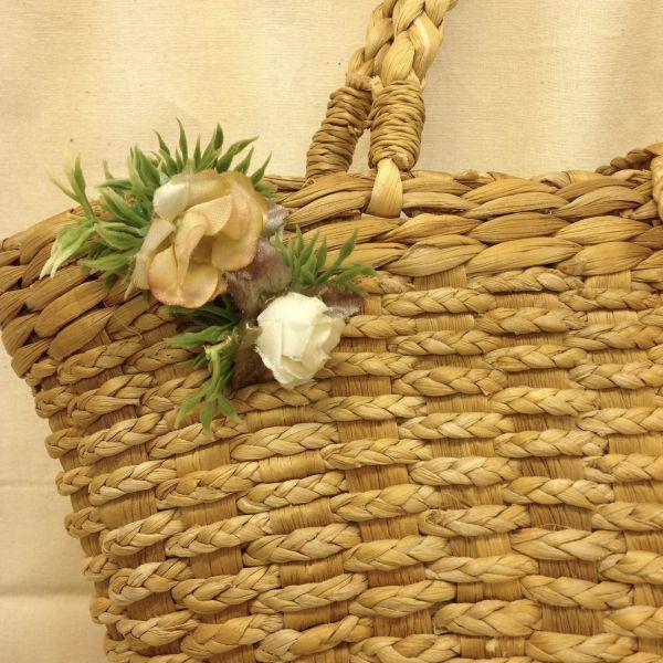 【特価】【激安】【アウトレット】造花付き い草バック_バッグ【b359】_b359-07.jpg