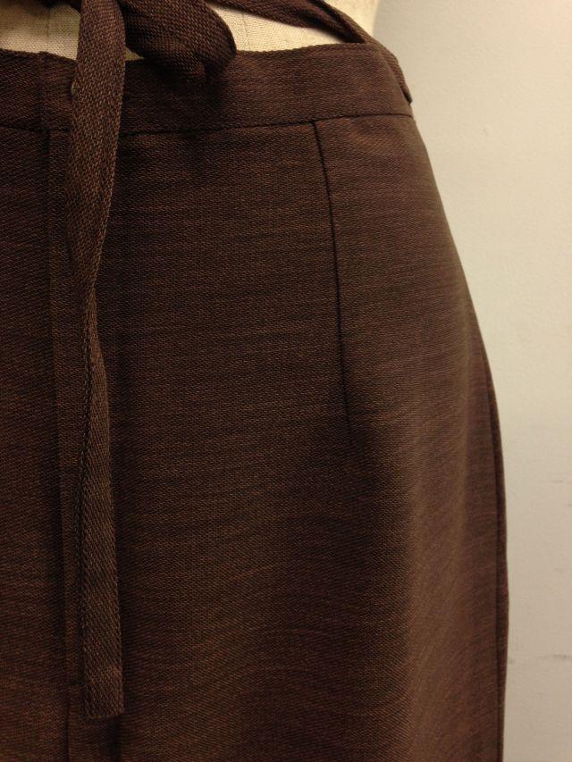 【特価】【アウトレットセール】(fop058-L-06)_Lサイズ_ボトムス_スカート_セピア色ロングスカート