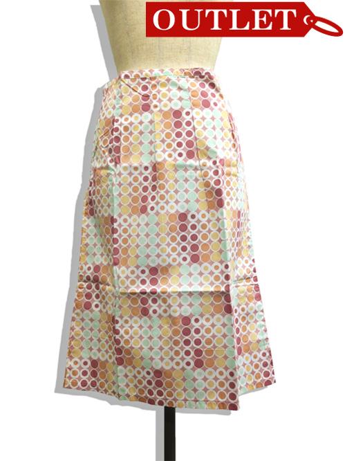 【特価】【激安】【アウトレット】ドット柄スカート(ピンク)=ボトムス_スカート=fop060-M-01.jpg