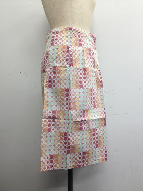 【特価】【激安】【アウトレット】ドット柄スカート(ピンク)=ボトムス_スカート=fop060-M-03.jpg