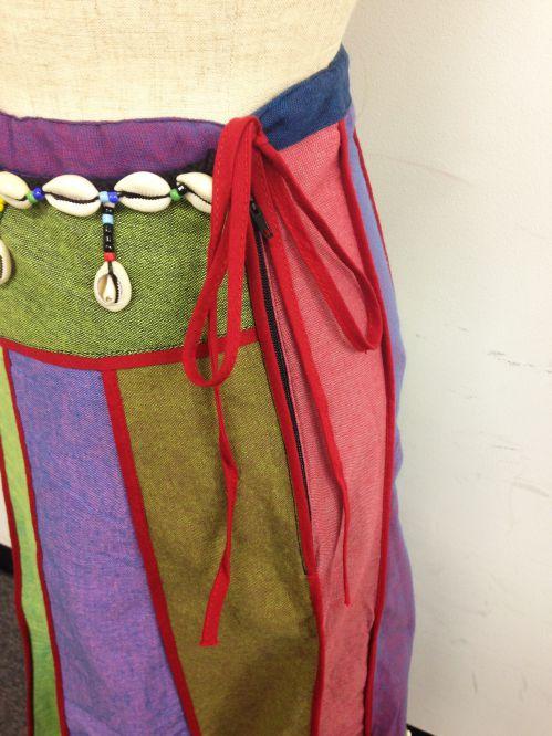 【特価】【アウトレットセール】(fop063-M-09)_Mサイズ_ボトムス_スカート_貝殻装飾スカート(001)