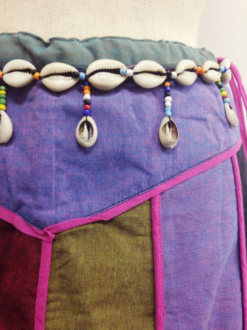 【特価】【アウトレットセール】(fop064-M-07)_Mサイズ_ボトムス_スカート_貝殻装飾スカート(002)
