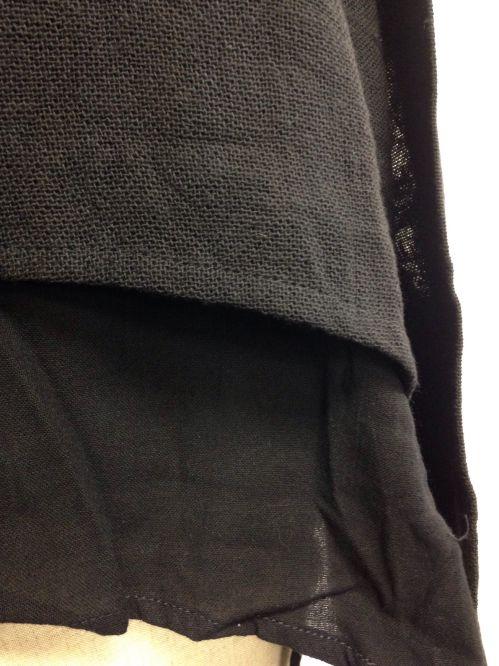 【fop106】【特価】【激安】【アウトレット】袖付きニットポンチョ(黒)_トップス_その他_F_09.jpg
