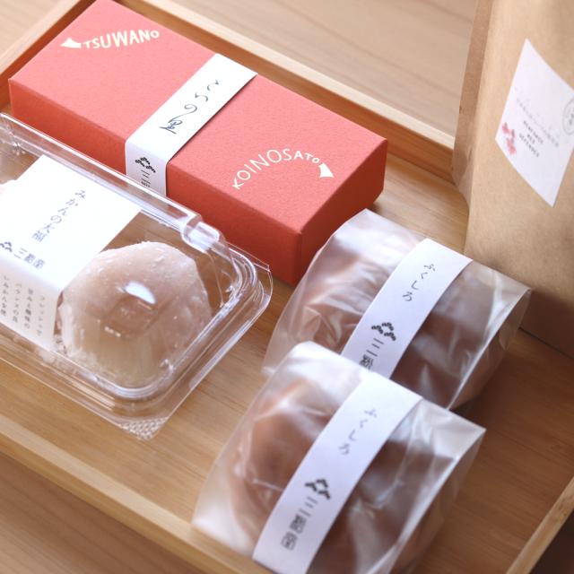 自宅で和菓子を楽しむセット