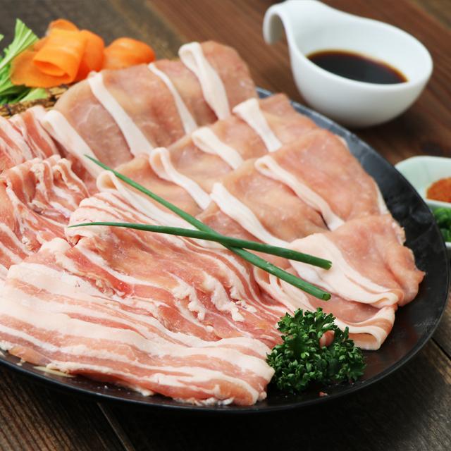 【産直健美】房総もち豚 しゃぶしゃぶセット(1.2kg)約5~6人前 200g×6袋
