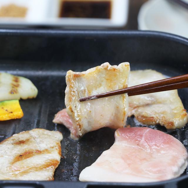 【産直健美】房総もち豚 焼肉セット(800g)約3~4人前 200g×4袋