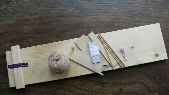 天の川工房オリジナル板織りキット