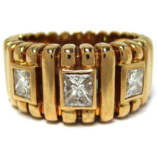 リング ダイヤモンド K18 11号 - TAK2000771