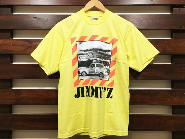 JIMMY'Z × STANDARD CALIFORNIA BOMB LOGO T-SHIRT YELLOW 「メール便OK」