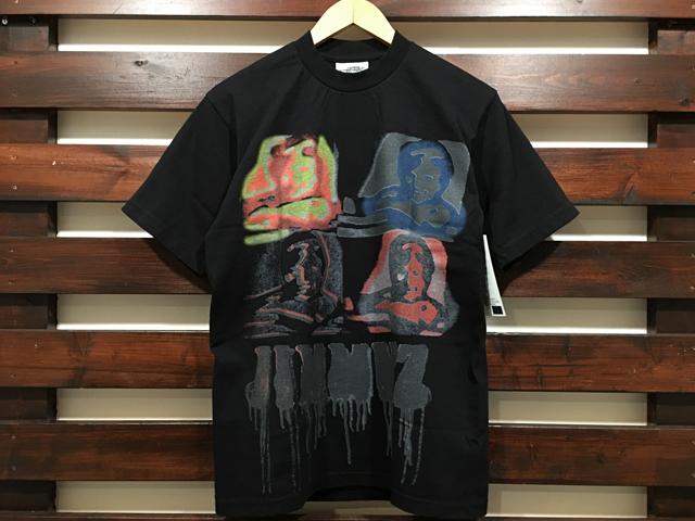 JIMMY'Z × STANDARD CALIFORNIA SPRAY LOGO T-SHIRT BLACK 「メール便OK」