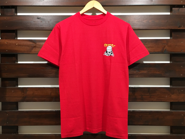 ANOTHER HEAVEN × STANDARD CALIFORNIA BURNS T-SHIRT RED 「メール便OK」