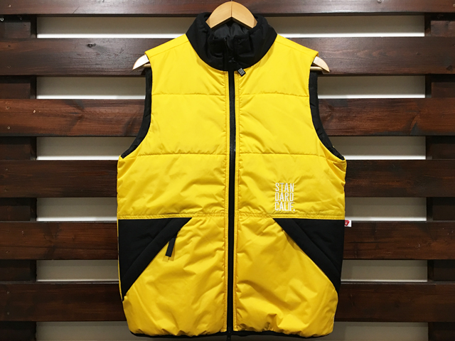 【送料無料】STANDARD CALIFORNIA PUFF VEST YELLOW