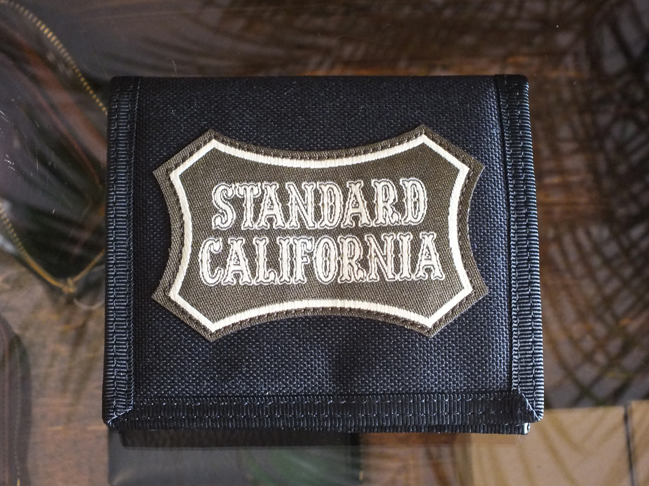 PORTER × STANDARD CALIFORNIA CARD WALLET BLACK