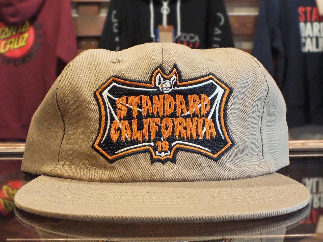 STANDARD CALIFORNIA TRICK OR TREAT SHIELD LOGO TWILL CAP BEIGE