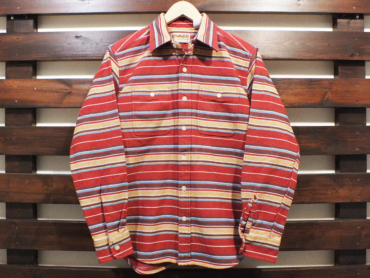 CAMCO HEAVY WEIGHT FLANNEL SHIRTS #20-B