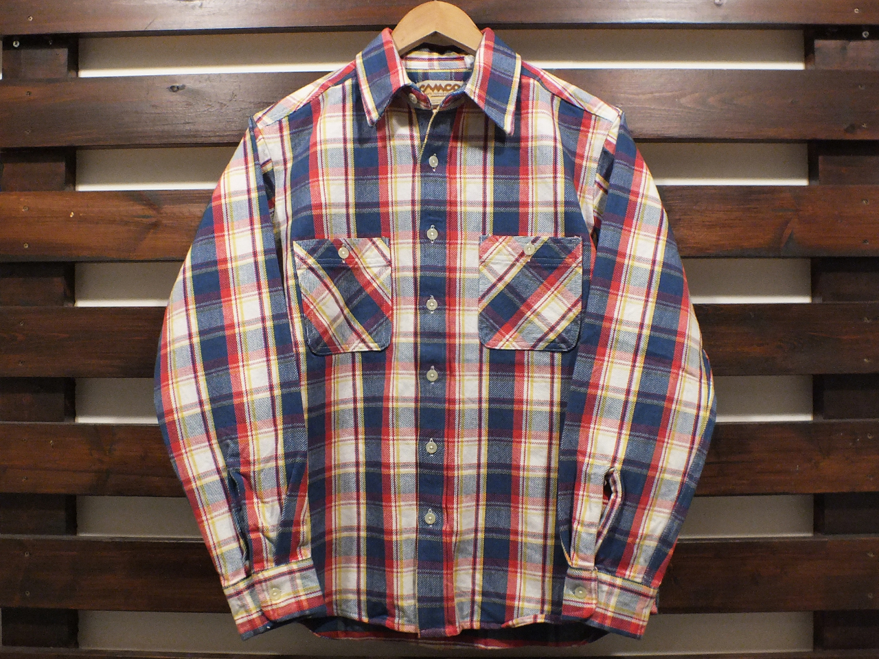CAMCO HEAVY WEIGHT FLANNEL SHIRTS #21-A