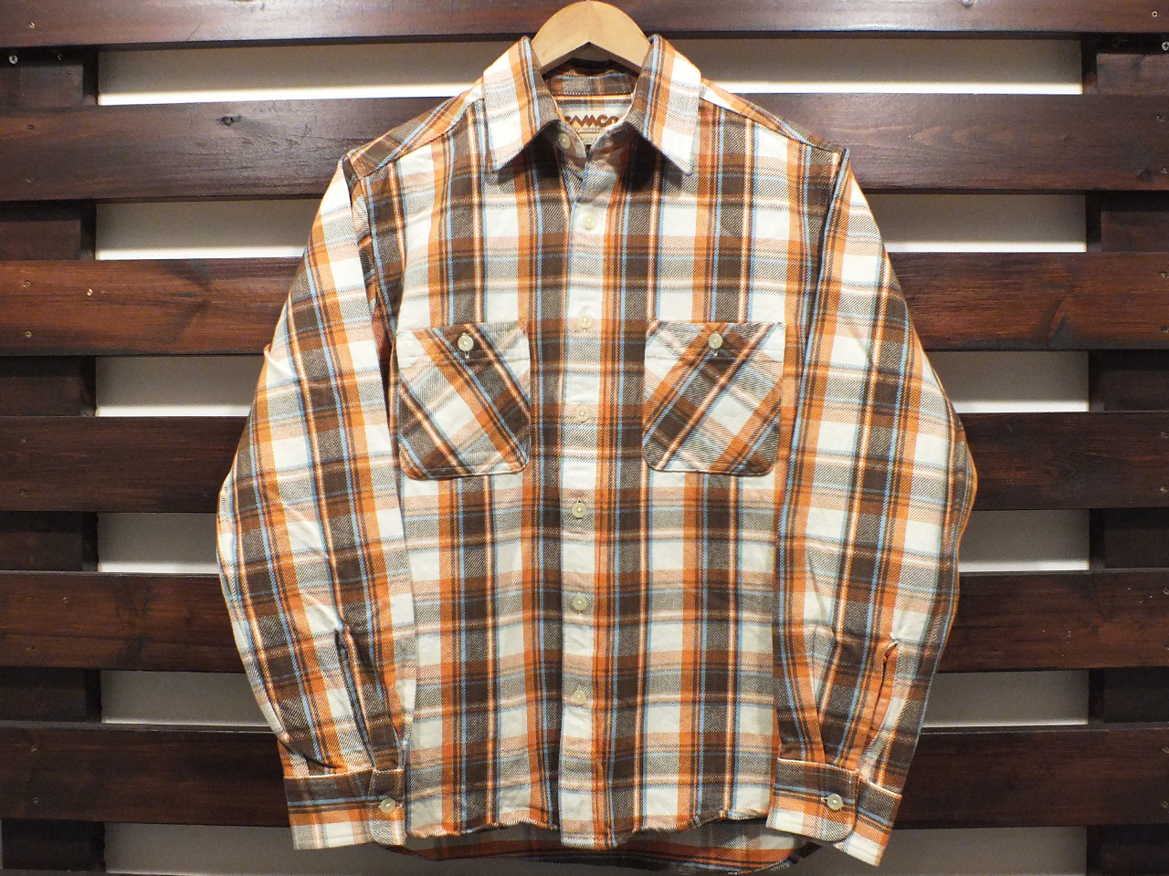 CAMCO HEAVY WEIGHT FLANNEL SHIRTS #21-B