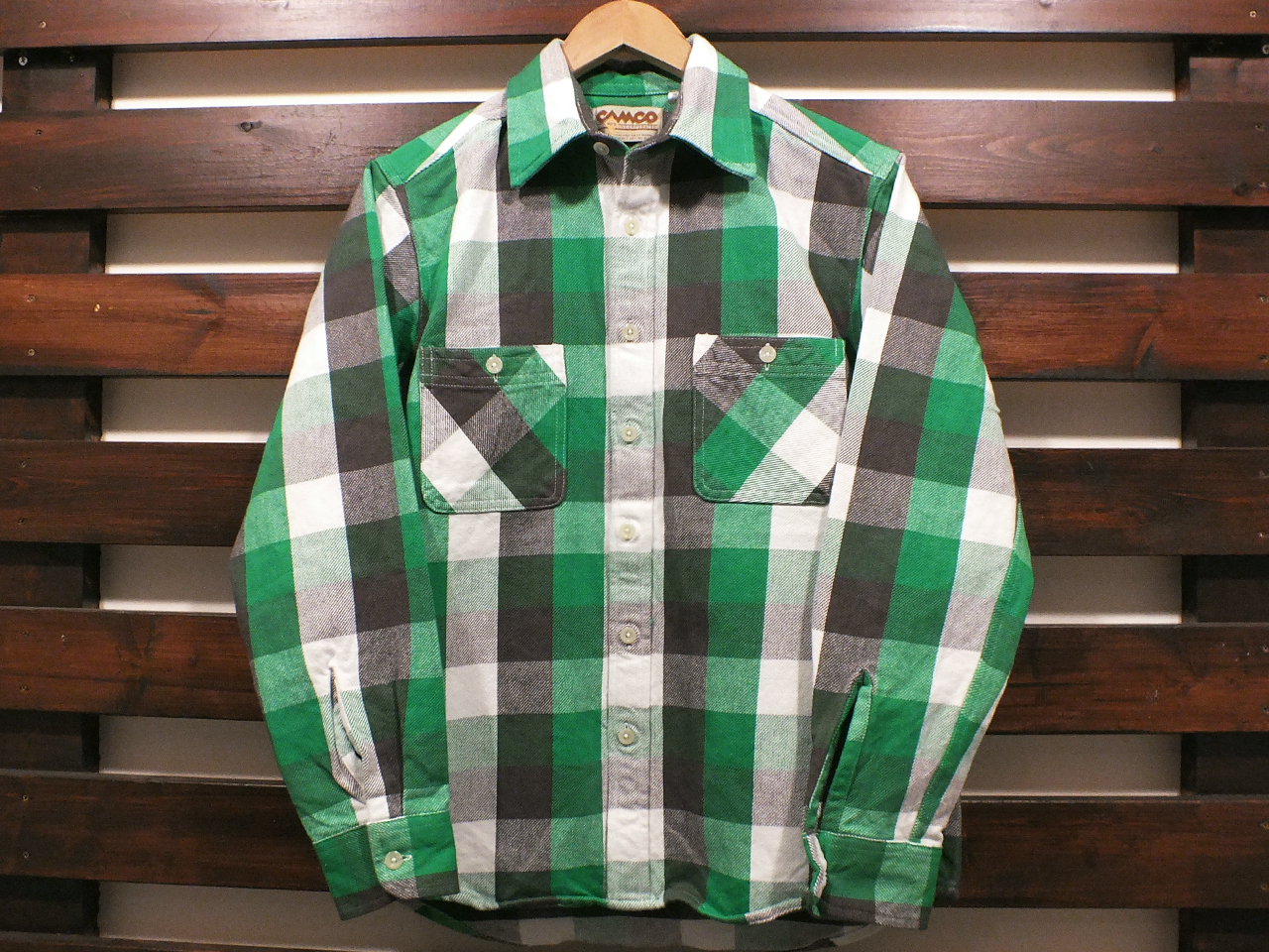 CAMCO HEAVY WEIGHT FLANNEL SHIRTS #21-E